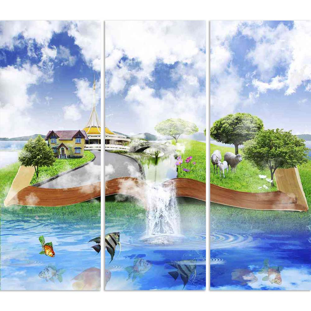 ArtzFolio Open Book With Nature Split Art Painting Panel on Sunboard-Split Art Panels-AZ5005761SPL_FR_RF_R-0-Image Code 5005761 Vishnu Image Folio Pvt Ltd, IC 5005761, ArtzFolio, Split Art Panels, Conceptual, Landscapes, Digital Art, open, book, with, nature, split, art, painting, panel, on, sunboard, framed, canvas, print, wall, for, living, room, frame, poster, pitaara, box, large, size, drawing, big, office, reception, photography, of, kids, designer, decorative, amazonbasics, reprint, small, bedroom, sc