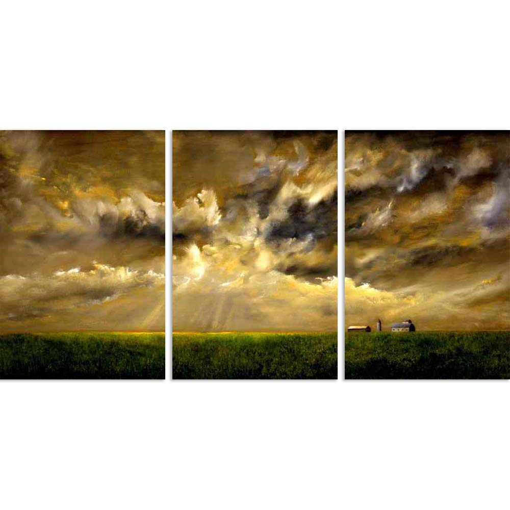 ArtzFolio Grainfield With Storm Split Art Painting Panel on Sunboard-Split Art Panels-AZ5005768SPL_FR_RF_R-0-Image Code 5005768 Vishnu Image Folio Pvt Ltd, IC 5005768, ArtzFolio, Split Art Panels, Landscapes, Photography, grainfield, with, storm, split, art, painting, panel, on, sunboard, framed, canvas, print, wall, for, living, room, frame, poster, pitaara, box, large, size, drawing, big, office, reception, of, kids, designer, decorative, amazonbasics, reprint, small, bedroom, scenery, oil, artwork, origi