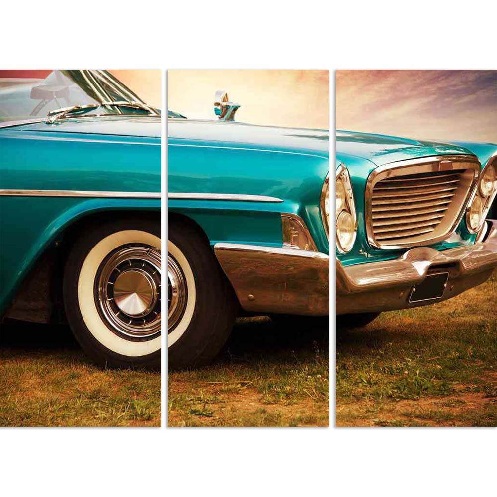 ArtzFolio Retro Car Image Split Art Painting Panel on Sunboard-Split Art Panels-AZ5005769SPL_FR_RF_R-0-Image Code 5005769 Vishnu Image Folio Pvt Ltd, IC 5005769, ArtzFolio, Split Art Panels, Automobiles, Vintage, Photography, retro, car, image, split, art, painting, panel, on, sunboard, framed, canvas, print, wall, for, living, room, with, frame, poster, pitaara, box, large, size, drawing, big, office, reception, of, kids, designer, decorative, amazonbasics, reprint, small, bedroom, scenery, 60s, 70s, ameri