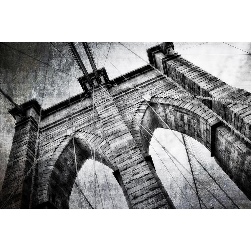 ArtzFolio Brooklyn Bridge Detail View Vintage Black White Peel & Stick Vinyl Wall Sticker-Laminated Wall Stickers-AZ5005789ART_UN_RF_R-0-Image Code 5005789 Vishnu Image Folio Pvt Ltd, IC 5005789, ArtzFolio, Laminated Wall Stickers, Places, Vintage, Photography, brooklyn, bridge, detail, view, black, white, peel, stick, vinyl, wall, sticker, for, bedroom, large, size, decal, drawing, room, living, decorative, big, waterproof, home, office, reception, pitaara, box, designer, prints, kids, pvc, amazonbasics, w