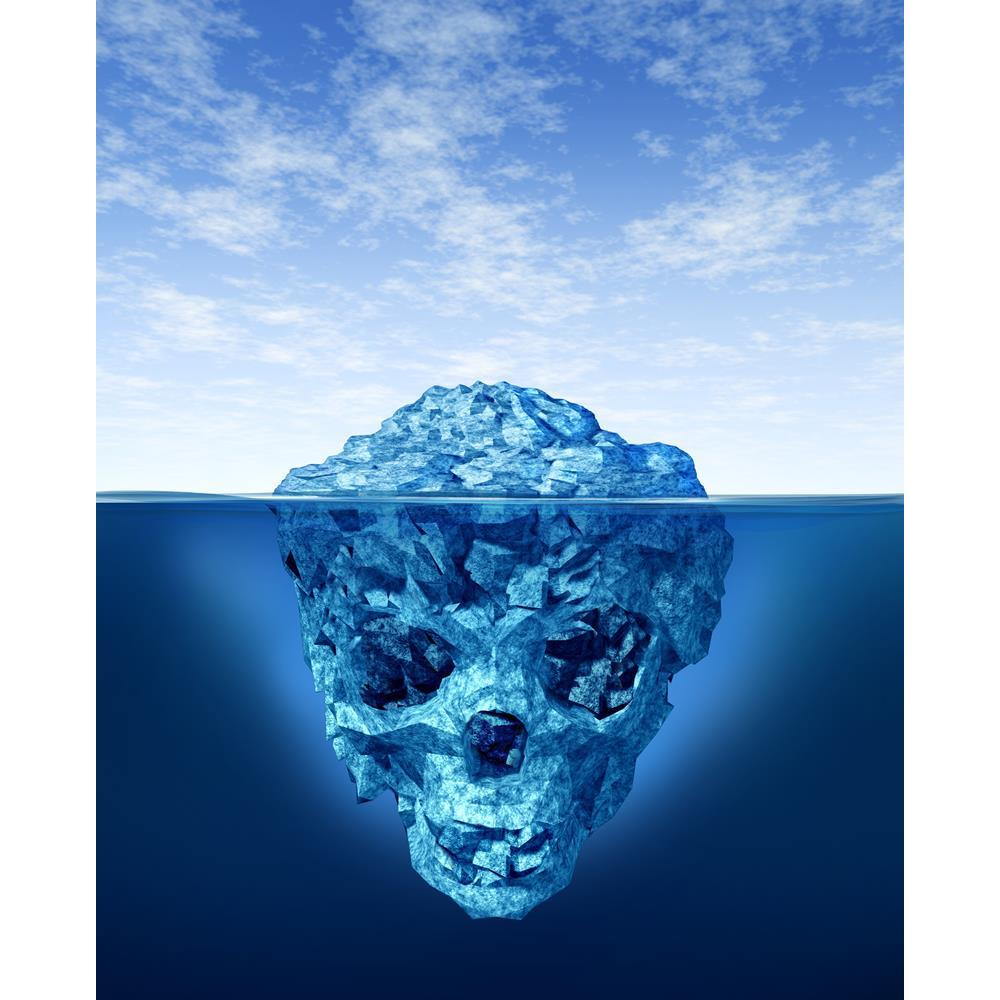 ArtzFolio Hidden Dangers Deceptive Iceberg Peel & Stick Vinyl Wall Sticker-Laminated Wall Stickers-AZ5005791ART_UN_RF_R-0-Image Code 5005791 Vishnu Image Folio Pvt Ltd, IC 5005791, ArtzFolio, Laminated Wall Stickers, Landscapes, Surrealism, Digital Art, hidden, dangers, deceptive, iceberg, peel, stick, vinyl, wall, sticker, for, bedroom, large, size, decal, drawing, room, living, decorative, big, waterproof, home, office, reception, pitaara, box, designer, prints, kids, pvc, amazonbasics, washable, abstract