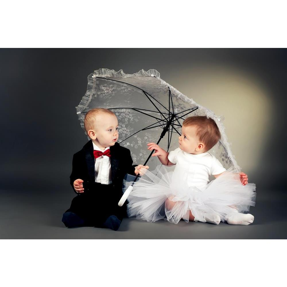 ArtzFolio Little Boy Girl Sitting Under Umbrella Peel & Stick Vinyl Wall Sticker-Laminated Wall Stickers-AZ5005793ART_UN_RF_R-0-Image Code 5005793 Vishnu Image Folio Pvt Ltd, IC 5005793, ArtzFolio, Laminated Wall Stickers, Kids, Photography, little, boy, girl, sitting, under, umbrella, peel, stick, vinyl, wall, sticker, for, bedroom, large, size, decal, drawing, room, living, decorative, big, waterproof, home, office, reception, pitaara, box, designer, prints, pvc, amazonbasics, washable, abstract, self, ad