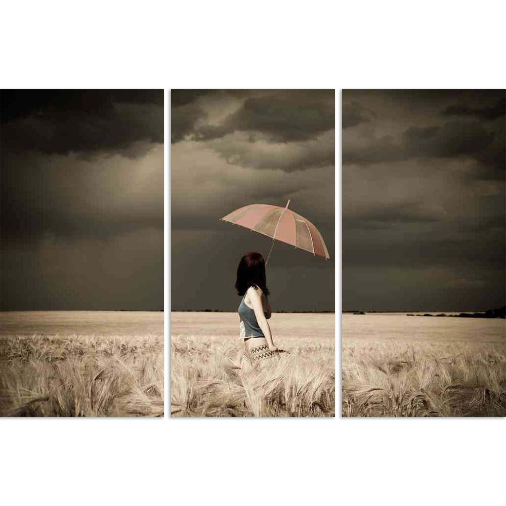 ArtzFolio Girl With Umbrella At Field In Retro Style Split Art Painting Panel on Sunboard-Split Art Panels-AZ5005796SPL_FR_RF_R-0-Image Code 5005796 Vishnu Image Folio Pvt Ltd, IC 5005796, ArtzFolio, Split Art Panels, Figurative, Landscapes, Photography, girl, with, umbrella, at, field, in, retro, style, split, art, painting, panel, on, sunboard, framed, canvas, print, wall, for, living, room, frame, poster, pitaara, box, large, size, drawing, big, office, reception, of, kids, designer, decorative, amazonba