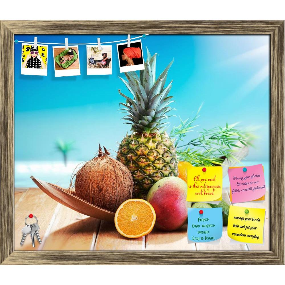 ArtzFolio Photo of Fresh Fruits On The Beach At A Deck Printed Bulletin Board Notice Pin Board Soft Board | Framed-Bulletin Boards Framed-AZ5005817BLB_FR_RF_R-0-Image Code 5005817 Vishnu Image Folio Pvt Ltd, IC 5005817, ArtzFolio, Bulletin Boards Framed, Food & Beverage, Photography, photo, of, fresh, fruits, on, the, beach, at, a, deck, printed, bulletin, board, notice, pin, soft, framed, orange, vacation, wooden, brown, blue, summer, sky, food, natural, vegetable, image, sun, fruity, healthy, lime, tasty,