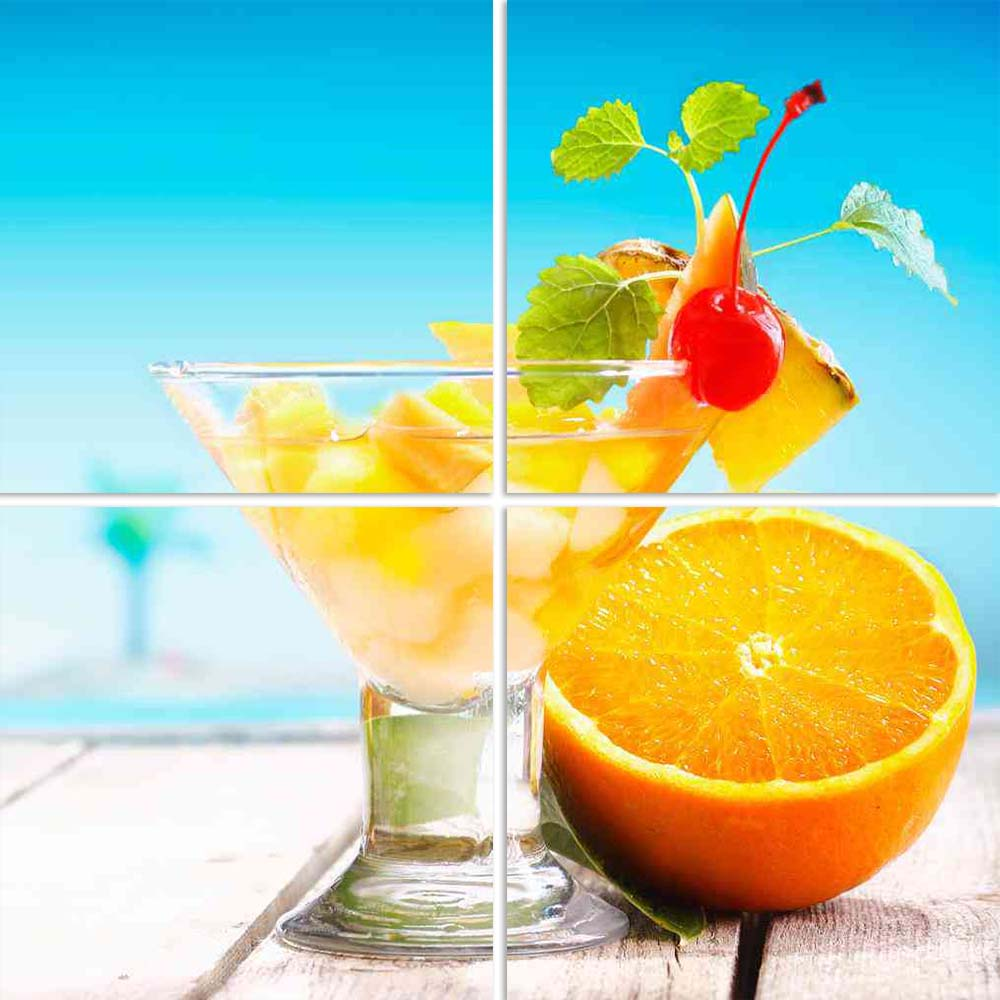 ArtzFolio Photo of a Fruit Salad on a Beach Deck Split Art Painting Panel on Sunboard-Split Art Panels-AZ5005820SPL_FR_RF_R-0-Image Code 5005820 Vishnu Image Folio Pvt Ltd, IC 5005820, ArtzFolio, Split Art Panels, Food & Beverage, Photography, photo, of, a, fruit, salad, on, beach, deck, split, art, painting, panel, sunboard, framed, canvas, print, wall, for, living, room, with, frame, poster, pitaara, box, large, size, drawing, big, office, reception, kids, designer, decorative, amazonbasics, reprint, smal
