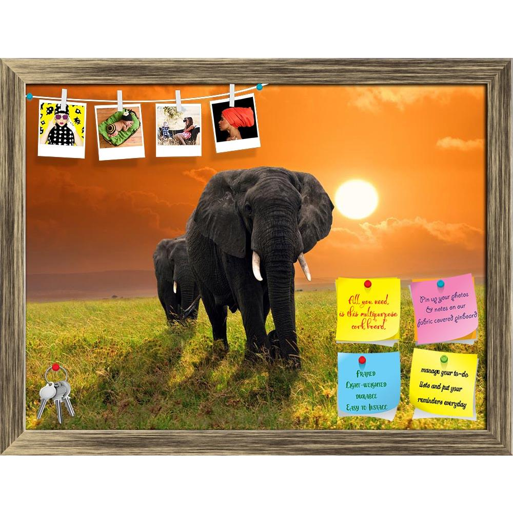 ArtzFolio African Elephants Walking in Savannah, Tanzania Printed Bulletin Board Notice Pin Board Soft Board | Framed-Bulletin Boards Framed-AZ5005833BLB_FR_RF_R-0-Image Code 5005833 Vishnu Image Folio Pvt Ltd, IC 5005833, ArtzFolio, Bulletin Boards Framed, Animals, Photography, african, elephants, walking, in, savannah, tanzania, printed, bulletin, board, notice, pin, soft, framed, elephant, africa, animal, big, large, mammal, safari, serengeti, wild, savanna, plateau, front, adventure, plain, yellow, gras