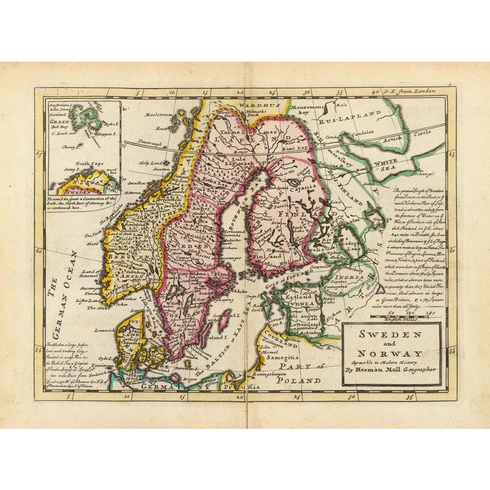 ArtzFolio Photo of an Antique Map Of Scandinavia 1736 Peel & Stick Vinyl Wall Sticker-Laminated Wall Stickers-AZ5005842ART_UN_RF_R-0-Image Code 5005842 Vishnu Image Folio Pvt Ltd, IC 5005842, ArtzFolio, Laminated Wall Stickers, Places, Vintage, Photography, photo, of, an, antique, map, scandinavia, 1736, peel, stick, vinyl, wall, sticker, for, bedroom, large, size, decal, drawing, room, living, decorative, big, waterproof, home, office, reception, pitaara, box, designer, prints, kids, pvc, amazonbasics, was