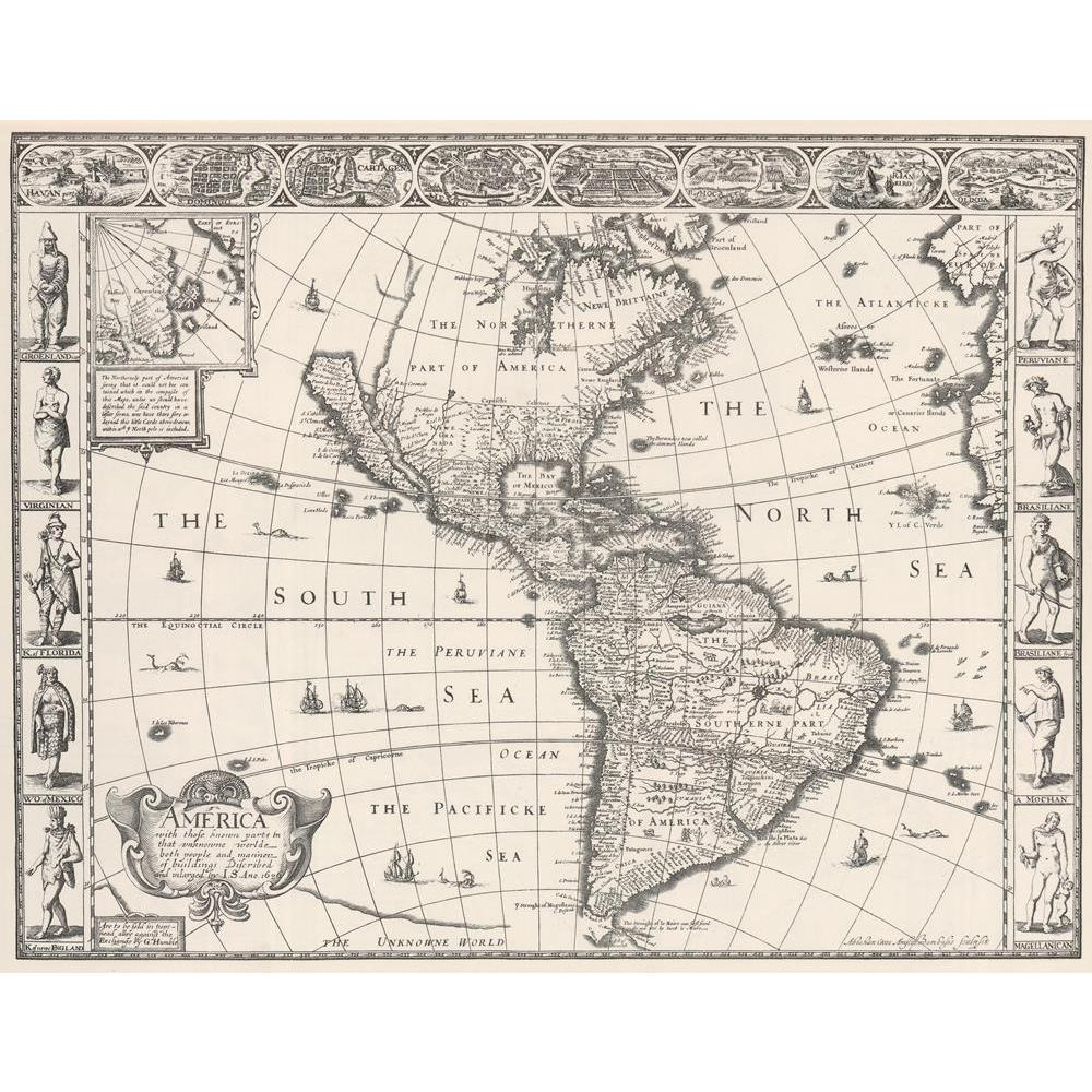 ArtzFolio Photo of an Antique Map Of Americas 1626 Peel & Stick Vinyl Wall Sticker-Laminated Wall Stickers-AZ5005843ART_UN_RF_R-0-Image Code 5005843 Vishnu Image Folio Pvt Ltd, IC 5005843, ArtzFolio, Laminated Wall Stickers, Places, Vintage, Photography, photo, of, an, antique, map, americas, 1626, peel, stick, vinyl, wall, sticker, for, bedroom, large, size, decal, drawing, room, living, decorative, big, waterproof, home, office, reception, pitaara, box, designer, prints, kids, pvc, amazonbasics, washable,