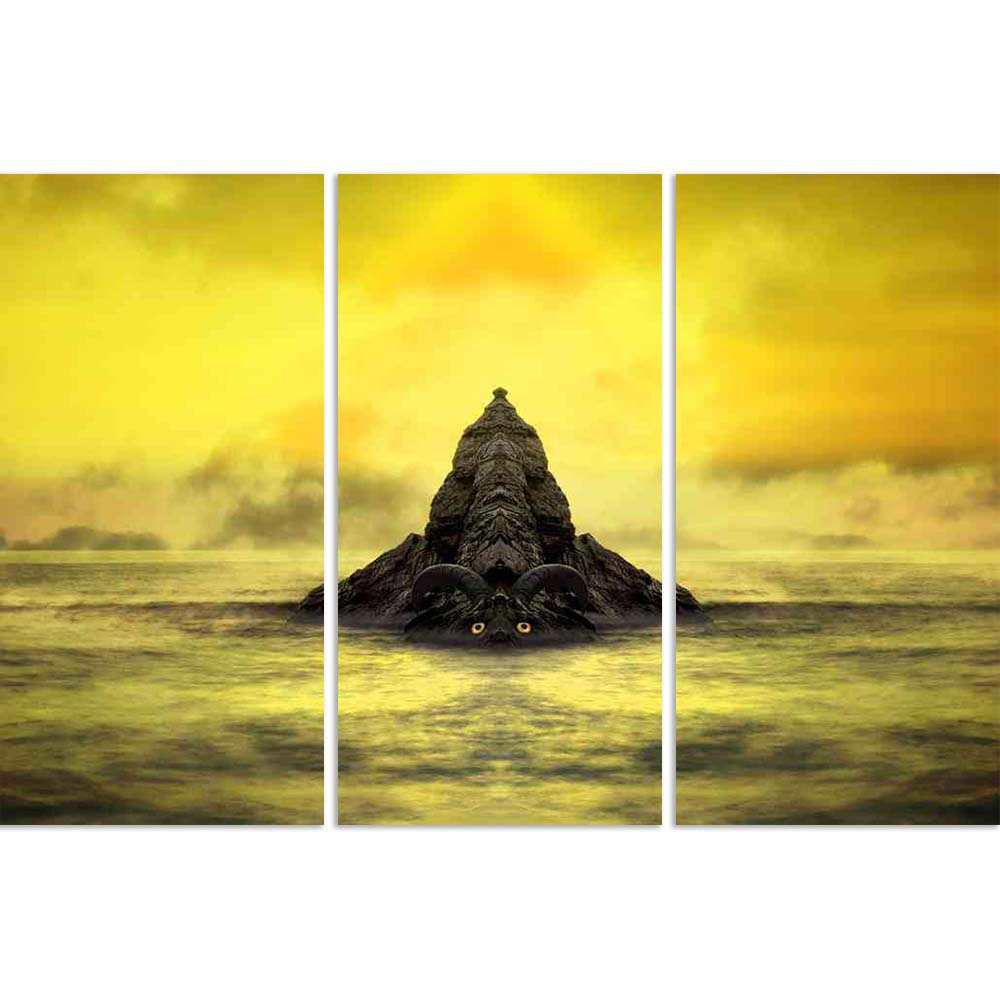 ArtzFolio Fantasy Stone Golem Split Art Painting Panel on Sunboard-Split Art Panels-AZ5005845SPL_FR_RF_R-0-Image Code 5005845 Vishnu Image Folio Pvt Ltd, IC 5005845, ArtzFolio, Split Art Panels, Landscapes, Surrealism, Digital Art, fantasy, stone, golem, split, art, painting, panel, on, sunboard, framed, canvas, print, wall, for, living, room, with, frame, poster, pitaara, box, large, size, drawing, big, office, reception, photography, of, kids, designer, decorative, amazonbasics, reprint, small, bedroom, s