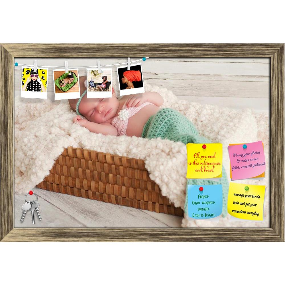 ArtzFolio Newborn Baby Girl Sleeping in a Basket Printed Bulletin Board Notice Pin Board Soft Board | Framed-Bulletin Boards Framed-AZ5005891BLB_FR_RF_R-0-Image Code 5005891 Vishnu Image Folio Pvt Ltd, IC 5005891, ArtzFolio, Bulletin Boards Framed, Kids, Photography, newborn, baby, girl, sleeping, in, a, basket, printed, bulletin, board, notice, pin, soft, framed, infant, mermaid, costume, human, one, person, caucasian, hispanic, innocence, innocent, cute, adorable, new, crochet, horizontal, image, color, p