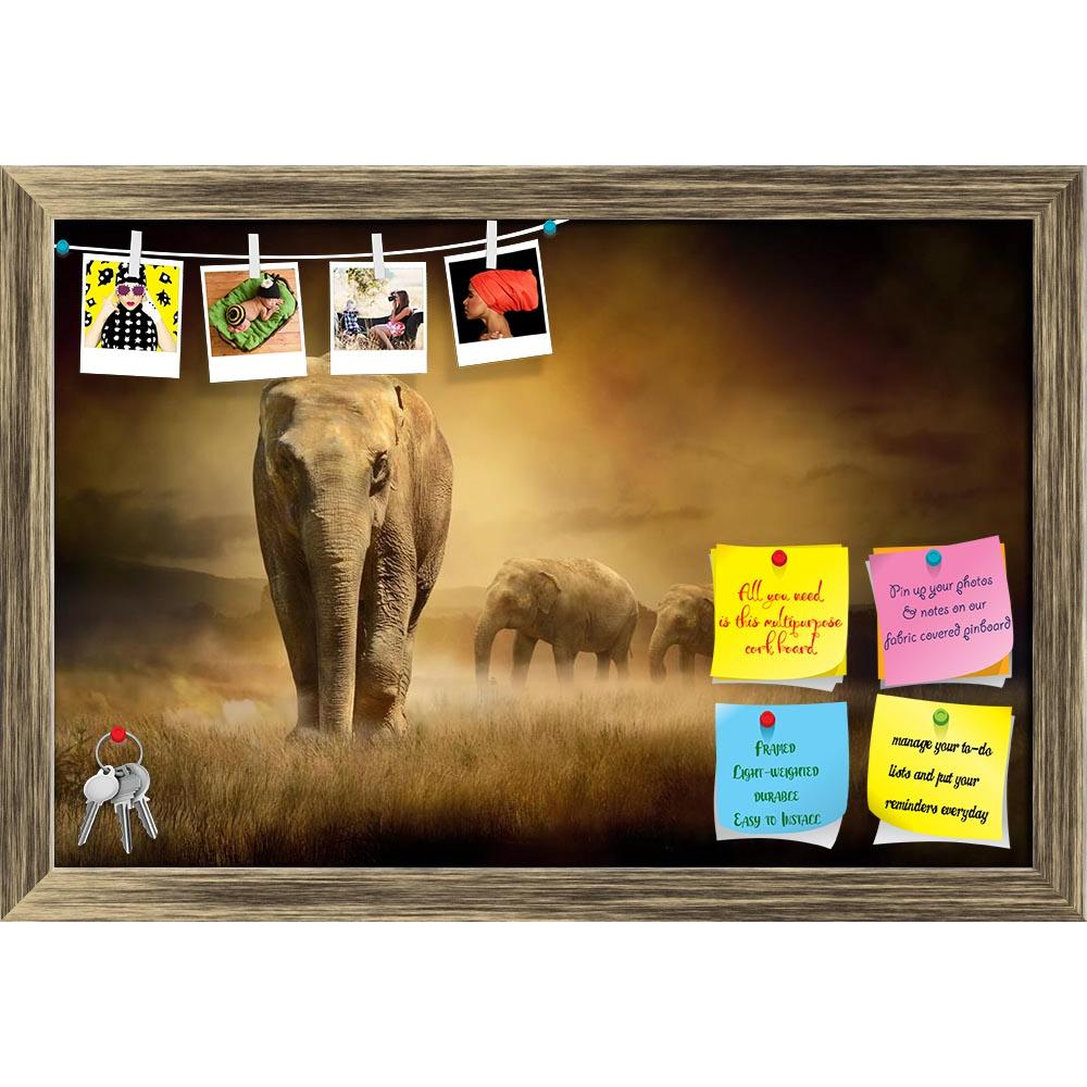 ArtzFolio Elephants At Sunset Printed Bulletin Board Notice Pin Board Soft Board | Framed-Bulletin Boards Framed-AZ5005894BLB_FR_RF_R-0-Image Code 5005894 Vishnu Image Folio Pvt Ltd, IC 5005894, ArtzFolio, Bulletin Boards Framed, Animals, Photography, elephants, at, sunset, printed, bulletin, board, notice, pin, soft, framed, africa, african, animal, art, asia, asian, background, big, canvas, closeup, clouds, column, desert, drove, dust, elegant, elephant, family, fauna, group, india, indian, isolated, jung