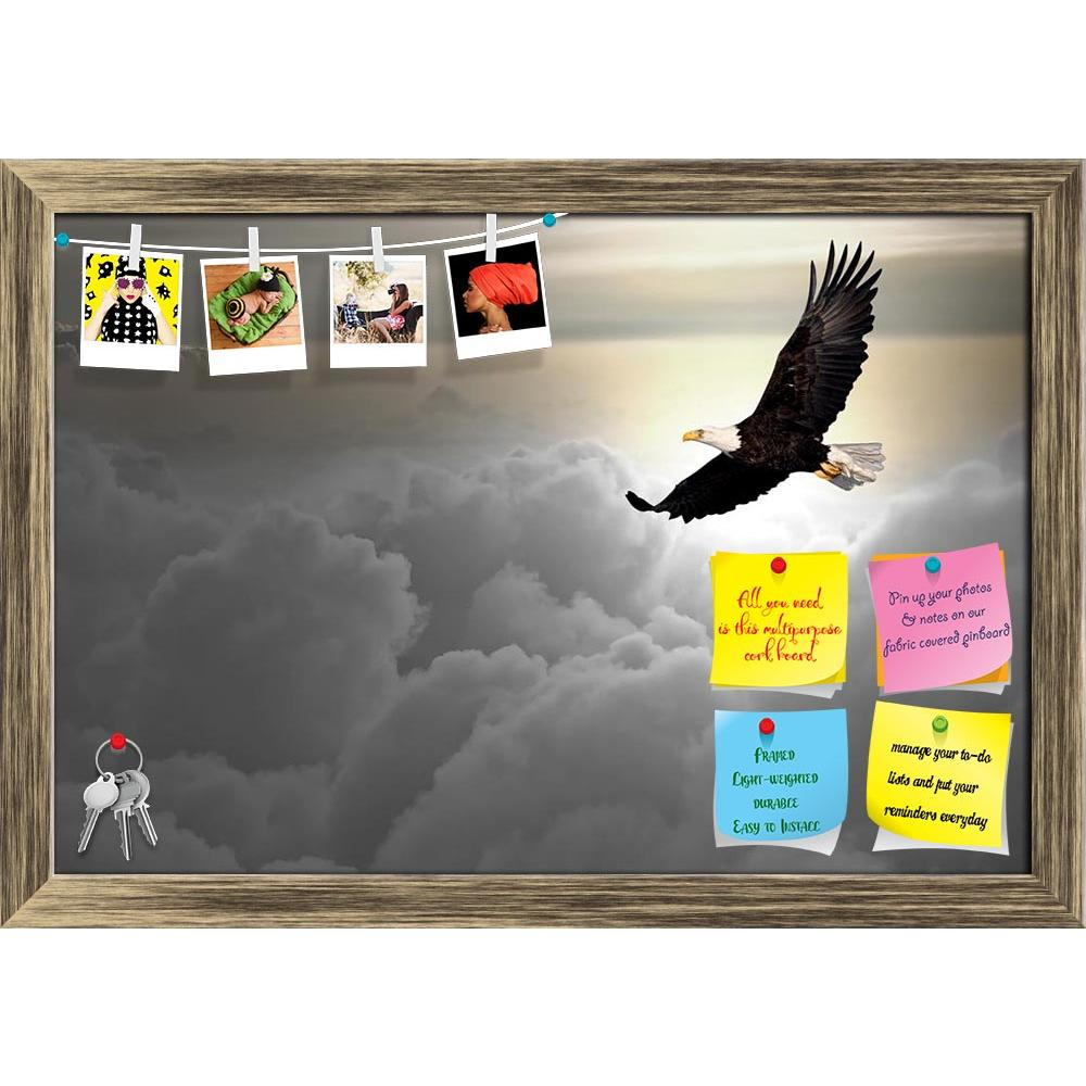 ArtzFolio Bald Eagle Flying Above The Clouds Printed Bulletin Board Notice Pin Board Soft Board | Framed-Bulletin Boards Framed-AZ5005897BLB_FR_RF_R-0-Image Code 5005897 Vishnu Image Folio Pvt Ltd, IC 5005897, ArtzFolio, Bulletin Boards Framed, Birds, Photography, bald, eagle, flying, above, the, clouds, printed, bulletin, board, notice, pin, soft, framed, alaska, america, american, bird, blue, country, defense, democracy, fast, flight, fly, free, freedom, liberty, nature, outdoor, prey, pride, proud, rapto