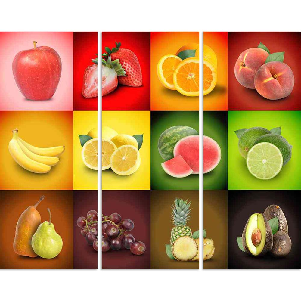 ArtzFolio Mosaic Photo of Colorful Fruit Squares Split Art Painting Panel on Sunboard-Split Art Panels-AZ5005902SPL_FR_RF_R-0-Image Code 5005902 Vishnu Image Folio Pvt Ltd, IC 5005902, ArtzFolio, Split Art Panels, Food & Beverage, Digital Art, mosaic, photo, of, colorful, fruit, squares, split, art, painting, panel, on, sunboard, framed, canvas, print, wall, for, living, room, with, frame, poster, pitaara, box, large, size, drawing, big, office, reception, photography, kids, designer, decorative, amazonbasi