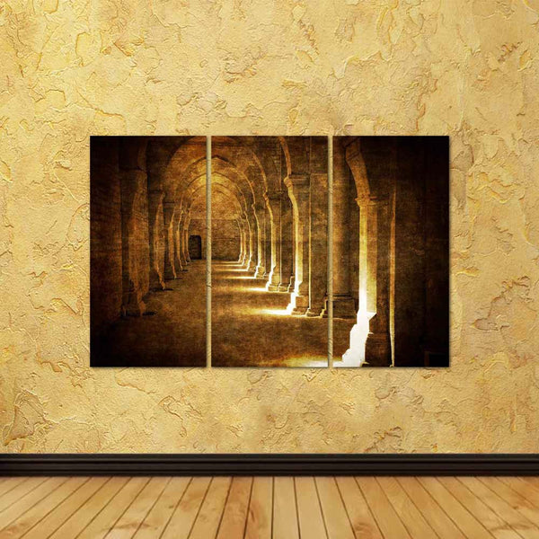 ArtzFolio Abbaye De Fontenay Archway Hall Vintage Split Art Painting Panel on Sunboard-Split Art Panels-AZ5005907SPL_FR_RF_R-0-Image Code 5005907 Vishnu Image Folio Pvt Ltd, IC 5005907, ArtzFolio, Split Art Panels, Landscapes, Places, Photography, abbaye, de, fontenay, archway, hall, vintage, split, art, painting, panel, on, sunboard, framed, canvas, print, wall, for, living, room, with, frame, poster, pitaara, box, large, size, drawing, big, office, reception, of, kids, designer, decorative, amazonbasics,