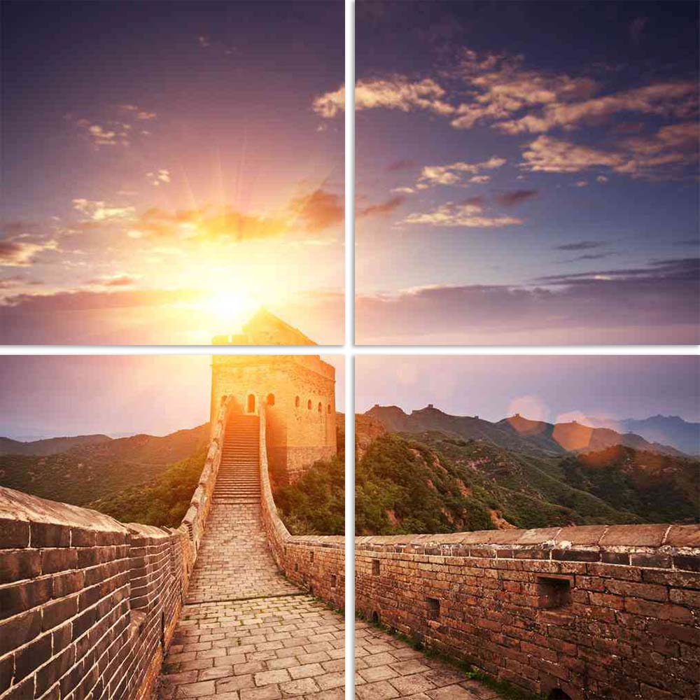 ArtzFolio The Landmark Great Wall Of China Beijing D1 Split Art Painting Panel on Sunboard-Split Art Panels-AZ5005930SPL_FR_RF_R-0-Image Code 5005930 Vishnu Image Folio Pvt Ltd, IC 5005930, ArtzFolio, Split Art Panels, Landscapes, Places, Photography, the, landmark, great, wall, of, china, beijing, d1, split, art, painting, panel, on, sunboard, framed, canvas, print, for, living, room, with, frame, poster, pitaara, box, large, size, drawing, big, office, reception, kids, designer, decorative, amazonbasics,