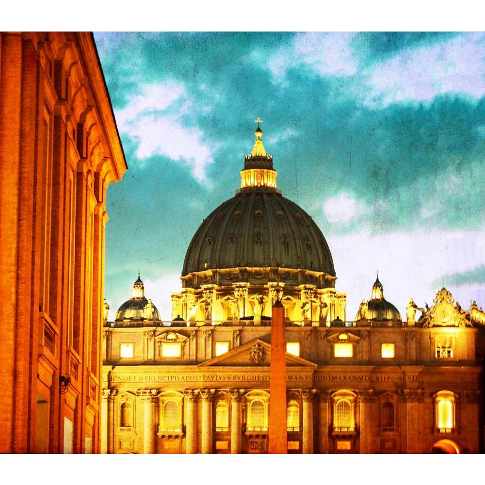 ArtzFolio Vintage Basilica Di San Pietro, Vatican City, Italy Peel & Stick Vinyl Wall Sticker-Laminated Wall Stickers-AZ5005958ART_UN_RF_R-0-Image Code 5005958 Vishnu Image Folio Pvt Ltd, IC 5005958, ArtzFolio, Laminated Wall Stickers, Places, Photography, vintage, basilica, di, san, pietro, vatican, city, italy, peel, stick, vinyl, wall, sticker, for, bedroom, large, size, decal, drawing, room, living, decorative, big, waterproof, home, office, reception, pitaara, box, designer, prints, kids, pvc, amazonba