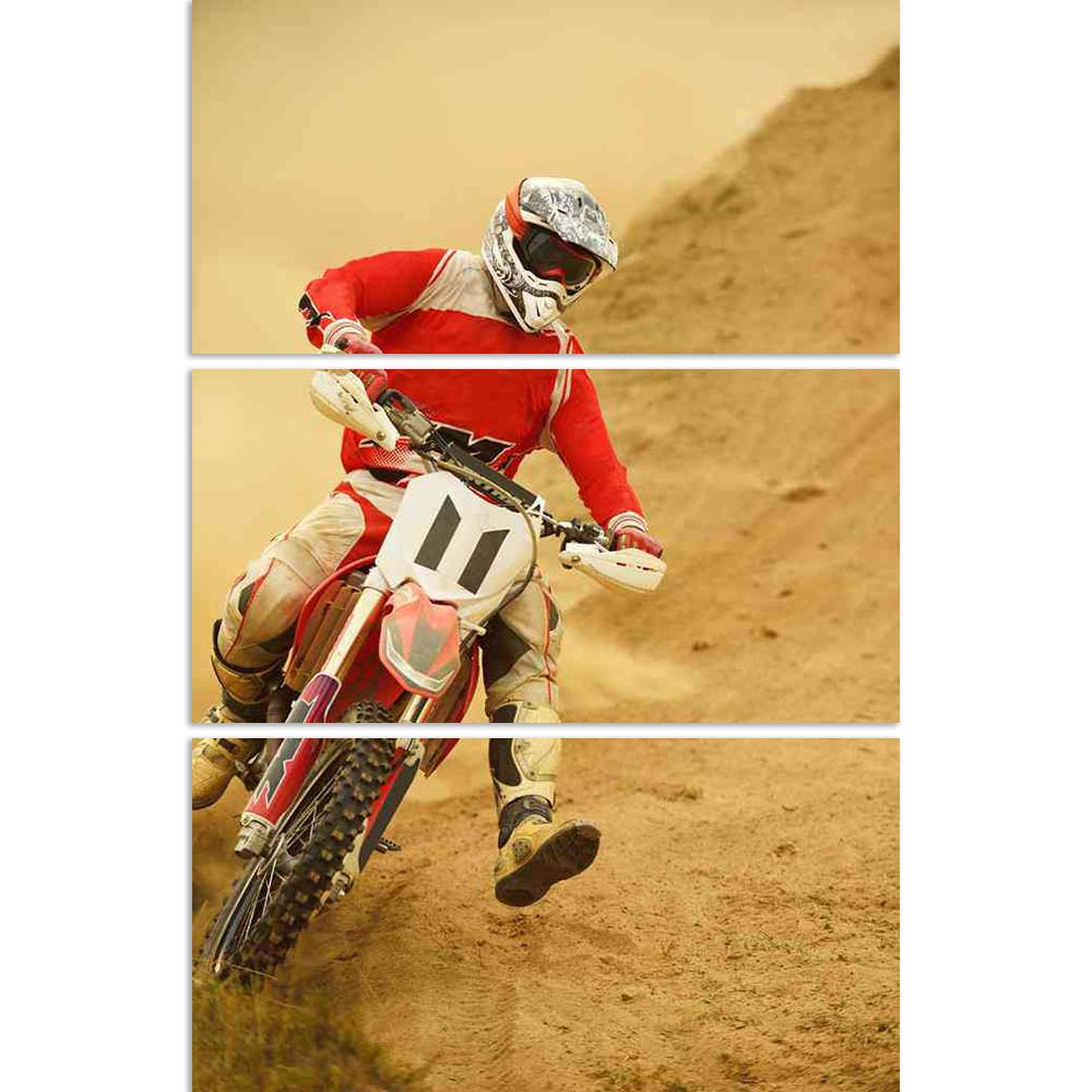 ArtzFolio Motocross Bike Extreme Man Sport Race Split Art Painting Panel on Sunboard-Split Art Panels-AZ5005972SPL_FR_RF_R-0-Image Code 5005972 Vishnu Image Folio Pvt Ltd, IC 5005972, ArtzFolio, Split Art Panels, Automobiles, Sports, Photography, motocross, bike, extreme, man, sport, race, split, art, painting, panel, on, sunboard, framed, canvas, print, wall, for, living, room, with, frame, poster, pitaara, box, large, size, drawing, big, office, reception, of, kids, designer, decorative, amazonbasics, rep