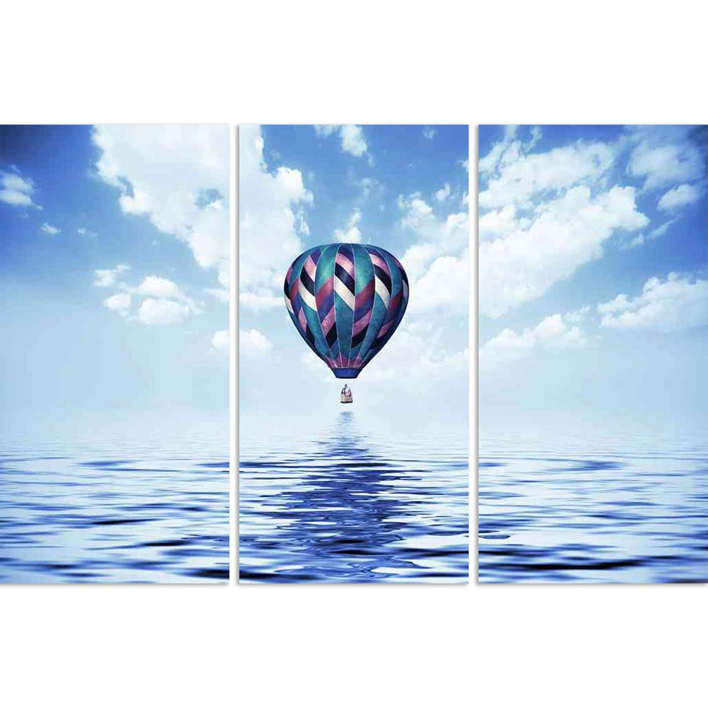 ArtzFolio Balloon Flying Low Over The Water Split Art Painting Panel on Sunboard-Split Art Panels-AZ5005976SPL_FR_RF_R-0-Image Code 5005976 Vishnu Image Folio Pvt Ltd, IC 5005976, ArtzFolio, Split Art Panels, Conceptual, Landscapes, Photography, balloon, flying, low, over, the, water, split, art, painting, panel, on, sunboard, framed, canvas, print, wall, for, living, room, with, frame, poster, pitaara, box, large, size, drawing, big, office, reception, of, kids, designer, decorative, amazonbasics, reprint,