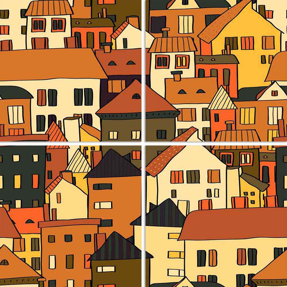 ArtzFolio Panorama Town Various Buildings Split Art Painting Panel on Sunboard-Split Art Panels-AZ5006015SPL_FR_RF_R-0-Image Code 5006015 Vishnu Image Folio Pvt Ltd, IC 5006015, ArtzFolio, Split Art Panels, Kids, Places, Digital Art, panorama, town, various, buildings, split, art, painting, panel, on, sunboard, framed, canvas, print, wall, for, living, room, with, frame, poster, pitaara, box, large, size, drawing, big, office, reception, photography, of, designer, decorative, amazonbasics, reprint, small, b