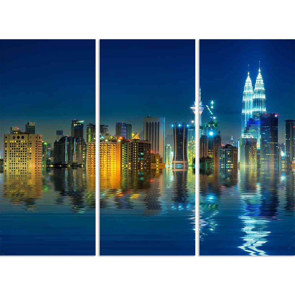 ArtzFolio Kuala Lumpur View, Capital of Malaysia Split Art Painting Panel on Sunboard-Split Art Panels-AZ5006031SPL_FR_RF_R-0-Image Code 5006031 Vishnu Image Folio Pvt Ltd, IC 5006031, ArtzFolio, Split Art Panels, Places, Photography, kuala, lumpur, view, capital, of, malaysia, split, art, painting, panel, on, sunboard, framed, canvas, print, wall, for, living, room, with, frame, poster, pitaara, box, large, size, drawing, big, office, reception, kids, designer, decorative, amazonbasics, reprint, small, bed