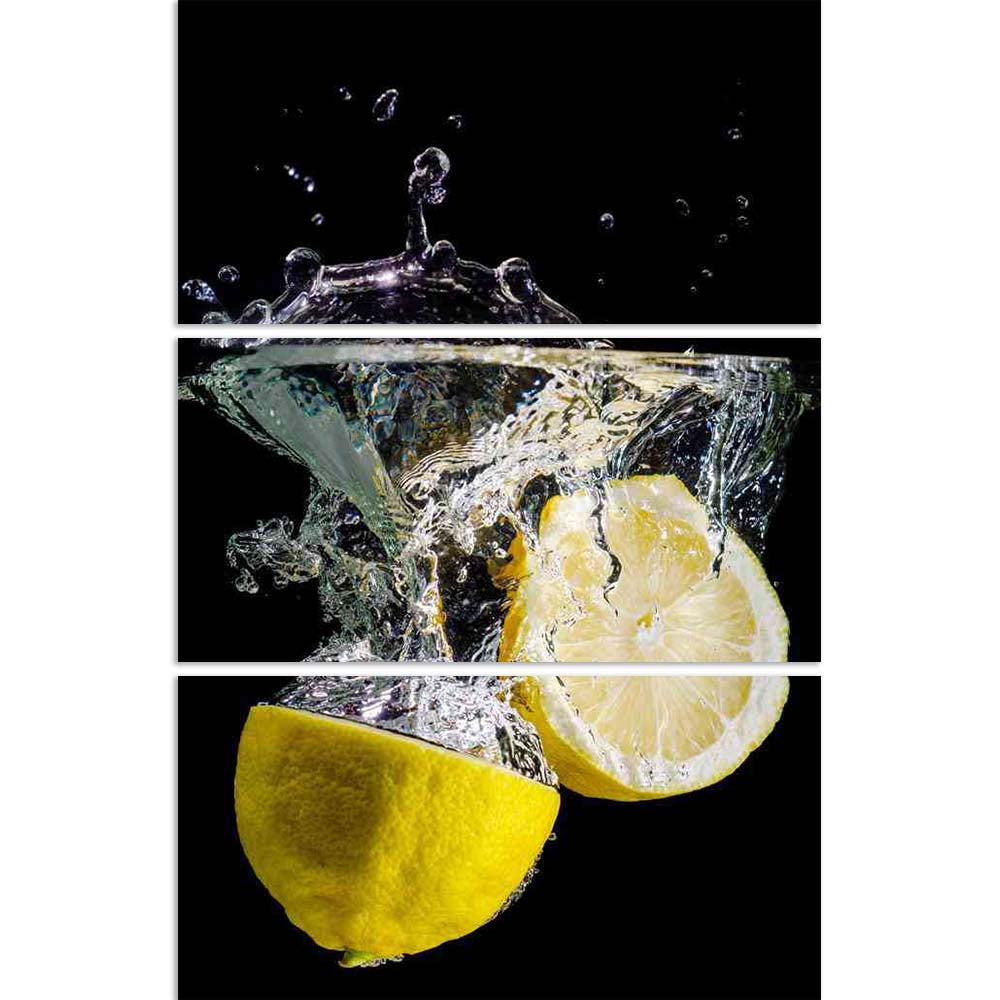 ArtzFolio Photo of Two Halved Lemons Splash Into Water Split Art Painting Panel on Sunboard-Split Art Panels-AZ5006033SPL_FR_RF_R-0-Image Code 5006033 Vishnu Image Folio Pvt Ltd, IC 5006033, ArtzFolio, Split Art Panels, Food & Beverage, Photography, photo, of, two, halved, lemons, splash, into, water, split, art, painting, panel, on, sunboard, framed, canvas, print, wall, for, living, room, with, frame, poster, pitaara, box, large, size, drawing, big, office, reception, kids, designer, decorative, amazonbas