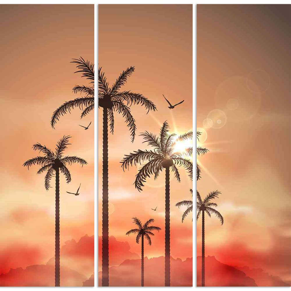 ArtzFolio Tropical Landscape With Palm Trees Split Art Painting Panel on Sunboard-Split Art Panels-AZ5006076SPL_FR_RF_R-0-Image Code 5006076 Vishnu Image Folio Pvt Ltd, IC 5006076, ArtzFolio, Split Art Panels, Landscapes, Photography, tropical, landscape, with, palm, trees, split, art, painting, panel, on, sunboard, framed, canvas, print, wall, for, living, room, frame, poster, pitaara, box, large, size, drawing, big, office, reception, of, kids, designer, decorative, amazonbasics, reprint, small, bedroom,