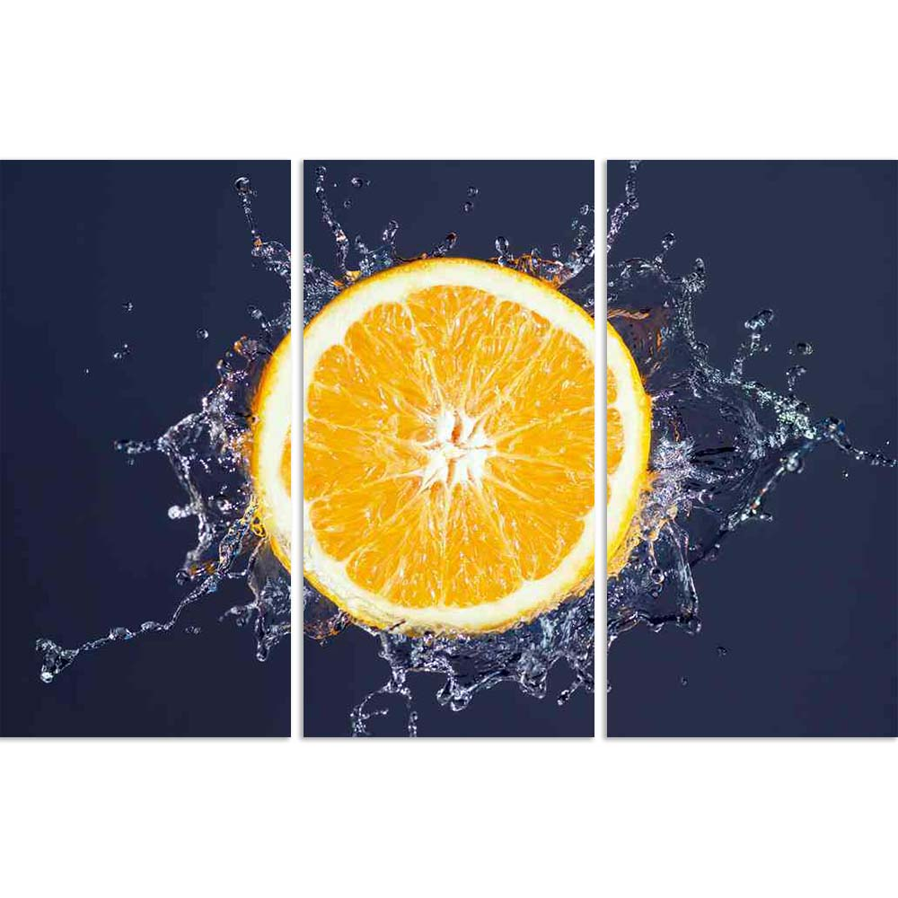 ArtzFolio Orange Splash With Water Split Art Painting Panel on Sunboard-Split Art Panels-AZ5006137SPL_FR_RF_R-0-Image Code 5006137 Vishnu Image Folio Pvt Ltd, IC 5006137, ArtzFolio, Split Art Panels, Food & Beverage, Photography, orange, splash, with, water, split, art, painting, panel, on, sunboard, framed, canvas, print, wall, for, living, room, frame, poster, pitaara, box, large, size, drawing, big, office, reception, of, kids, designer, decorative, amazonbasics, reprint, small, bedroom, scenery, fruit,