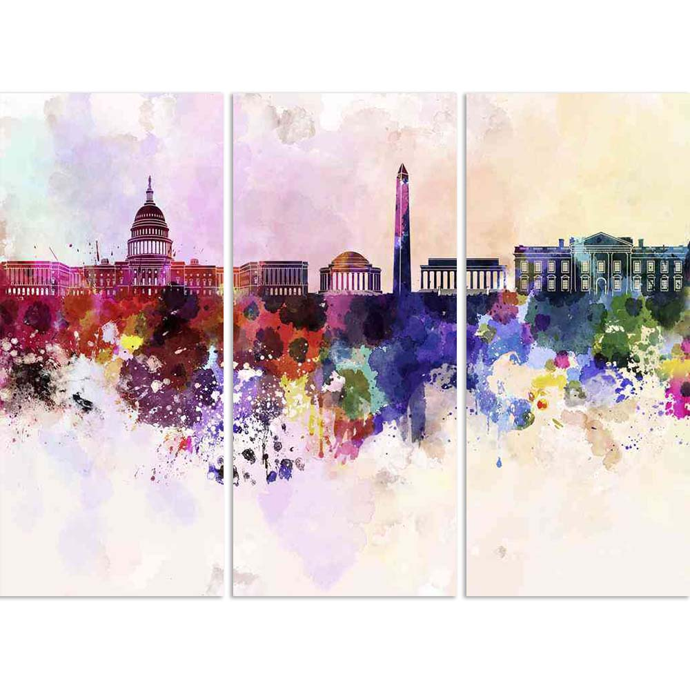 ArtzFolio Skyline of Washington DC, USA Split Art Painting Panel on Sunboard-Split Art Panels-AZ5006189SPL_FR_RF_R-0-Image Code 5006189 Vishnu Image Folio Pvt Ltd, IC 5006189, ArtzFolio, Split Art Panels, Places, Fine Art Reprint, skyline, of, washington, dc, usa, split, art, painting, panel, on, sunboard, framed, canvas, print, wall, for, living, room, with, frame, poster, pitaara, box, large, size, drawing, big, office, reception, photography, kids, designer, decorative, amazonbasics, reprint, small, bedr