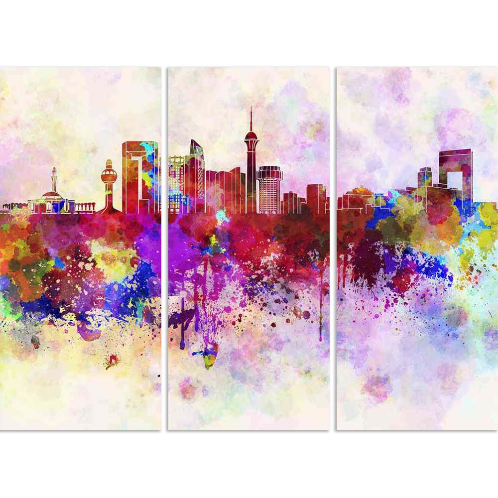 ArtzFolio Jeddah, Saudi Arabia Skyline In Watercolor Split Art Painting Panel on Sunboard-Split Art Panels-AZ5006206SPL_FR_RF_R-0-Image Code 5006206 Vishnu Image Folio Pvt Ltd, IC 5006206, ArtzFolio, Split Art Panels, Places, Fine Art Reprint, jeddah, saudi, arabia, skyline, in, watercolor, split, art, painting, panel, on, sunboard, framed, canvas, print, wall, for, living, room, with, frame, poster, pitaara, box, large, size, drawing, big, office, reception, photography, of, kids, designer, decorative, ama