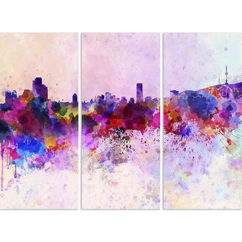 ArtzFolio Seoul, South Korea Skyline In Watercolor Split Art Painting Panel on Sunboard-Split Art Panels-AZ5006211SPL_FR_RF_R-0-Image Code 5006211 Vishnu Image Folio Pvt Ltd, IC 5006211, ArtzFolio, Split Art Panels, Places, Fine Art Reprint, seoul, south, korea, skyline, in, watercolor, split, art, painting, panel, on, sunboard, framed, canvas, print, wall, for, living, room, with, frame, poster, pitaara, box, large, size, drawing, big, office, reception, photography, of, kids, designer, decorative, amazonb