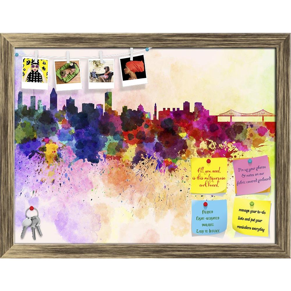 ArtzFolio Montreal Skyline, City in Canada's Québec Province Printed Bulletin Board Notice Pin Board Soft Board | Framed-Bulletin Boards Framed-AZ5006250BLB_FR_RF_R-0-Image Code 5006250 Vishnu Image Folio Pvt Ltd, IC 5006250, ArtzFolio, Bulletin Boards Framed, Places, Fine Art Reprint, montreal, skyline, city, in, canada's, québec, province, printed, bulletin, board, notice, pin, soft, framed, canada, north, america, watercolor, background, abstract, paint, color, splash, colorful, art, texture, grunge, pap
