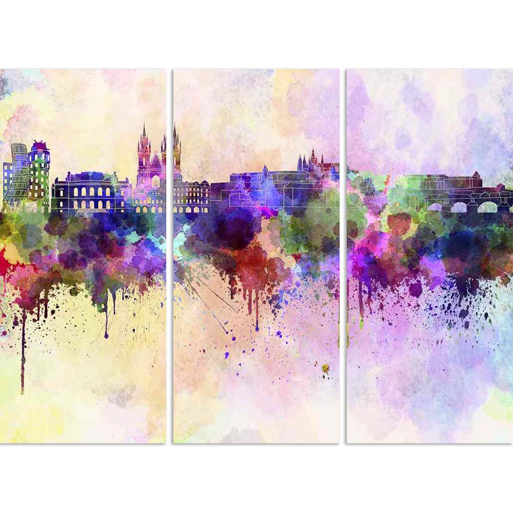 ArtzFolio Prague Skyline, Capital City of The Czech Republic Split Art Painting Panel on Sunboard-Split Art Panels-AZ5006255SPL_FR_RF_R-0-Image Code 5006255 Vishnu Image Folio Pvt Ltd, IC 5006255, ArtzFolio, Split Art Panels, Places, Fine Art Reprint, prague, skyline, capital, city, of, the, czech, republic, split, art, painting, panel, on, sunboard, framed, canvas, print, wall, for, living, room, with, frame, poster, pitaara, box, large, size, drawing, big, office, reception, photography, kids, designer, d