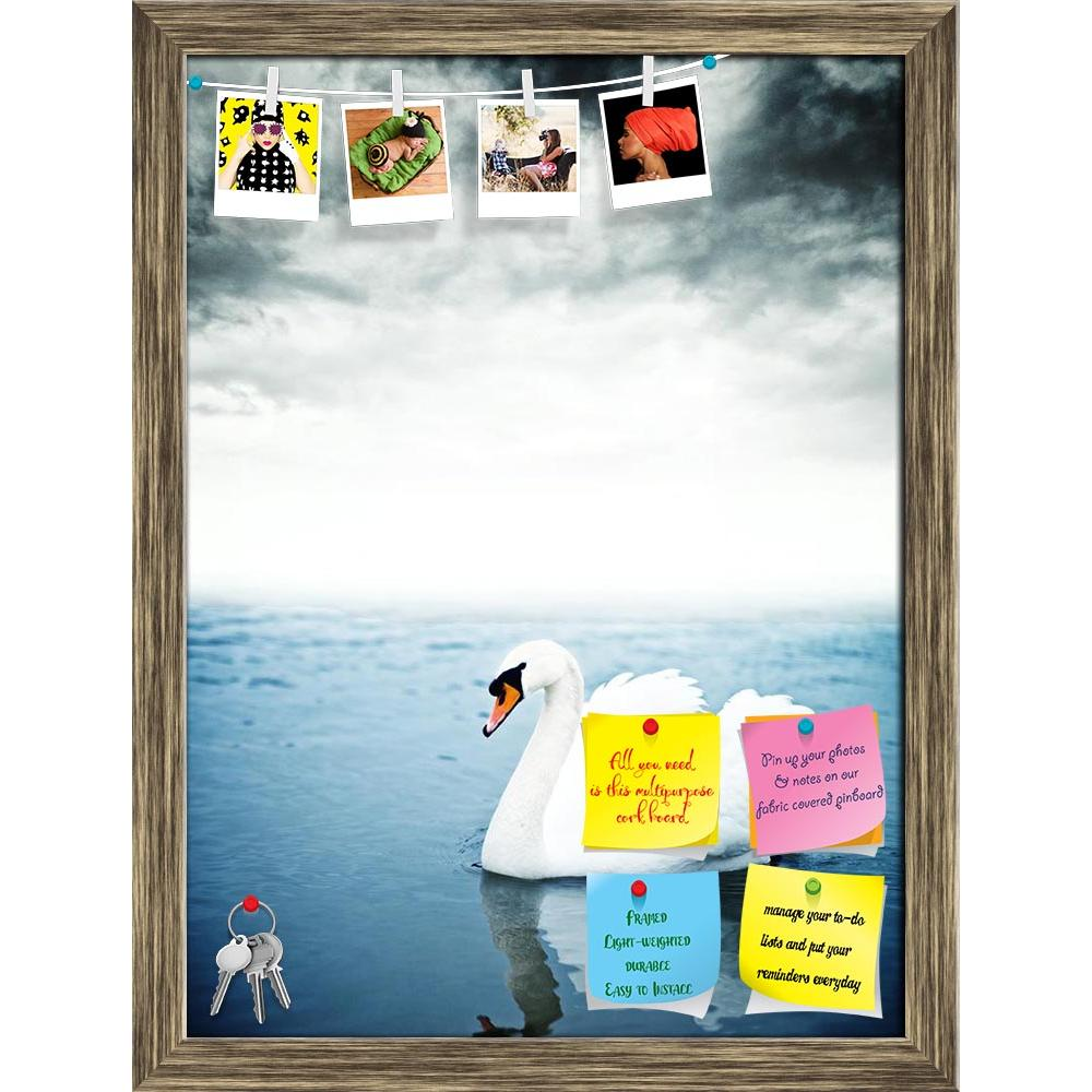 ArtzFolio Swan Floating On The Surface Of A Lake Printed Bulletin Board Notice Pin Board Soft Board | Framed-Bulletin Boards Framed-AZ5006258BLB_FR_RF_R-0-Image Code 5006258 Vishnu Image Folio Pvt Ltd, IC 5006258, ArtzFolio, Bulletin Boards Framed, Birds, Photography, swan, floating, on, the, surface, of, a, lake, printed, bulletin, board, notice, pin, soft, framed, mute, cygnus, olor, calm, bird, white, sunrise, peace, one, love, solitary, misty, reflection, mist, quiet, dawn, tranquility, nature, single,