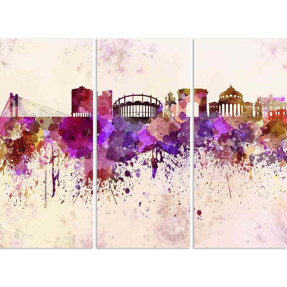 ArtzFolio Skyline of Bucharest, capital city of Romania Split Art Painting Panel on Sunboard-Split Art Panels-AZ5006260SPL_FR_RF_R-0-Image Code 5006260 Vishnu Image Folio Pvt Ltd, IC 5006260, ArtzFolio, Split Art Panels, Places, Fine Art Reprint, skyline, of, bucharest, capital, city, romania, split, art, painting, panel, on, sunboard, framed, canvas, print, wall, for, living, room, with, frame, poster, pitaara, box, large, size, drawing, big, office, reception, photography, kids, designer, decorative, amaz