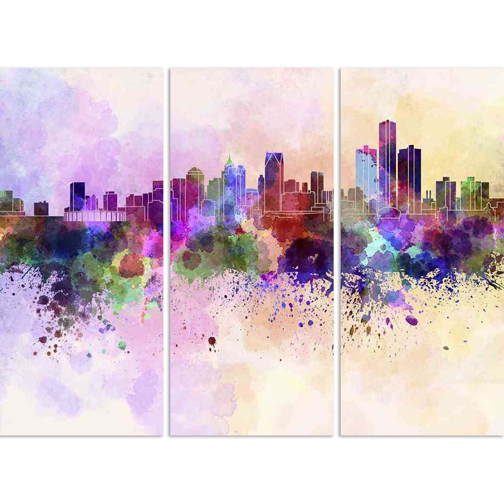 ArtzFolio Skyline of Detroit, City in Michigan, USA Split Art Painting Panel on Sunboard-Split Art Panels-AZ5006261SPL_FR_RF_R-0-Image Code 5006261 Vishnu Image Folio Pvt Ltd, IC 5006261, ArtzFolio, Split Art Panels, Places, Fine Art Reprint, skyline, of, detroit, city, in, michigan, usa, split, art, painting, panel, on, sunboard, framed, canvas, print, wall, for, living, room, with, frame, poster, pitaara, box, large, size, drawing, big, office, reception, photography, kids, designer, decorative, amazonbas