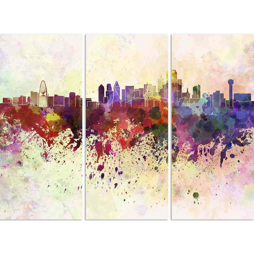 ArtzFolio Dallas Skyline, Metropolis in North Texas, USA Split Art Painting Panel on Sunboard-Split Art Panels-AZ5006285SPL_FR_RF_R-0-Image Code 5006285 Vishnu Image Folio Pvt Ltd, IC 5006285, ArtzFolio, Split Art Panels, Places, Fine Art Reprint, dallas, skyline, metropolis, in, north, texas, usa, split, art, painting, panel, on, sunboard, framed, canvas, print, wall, for, living, room, with, frame, poster, pitaara, box, large, size, drawing, big, office, reception, photography, of, kids, designer, decorat