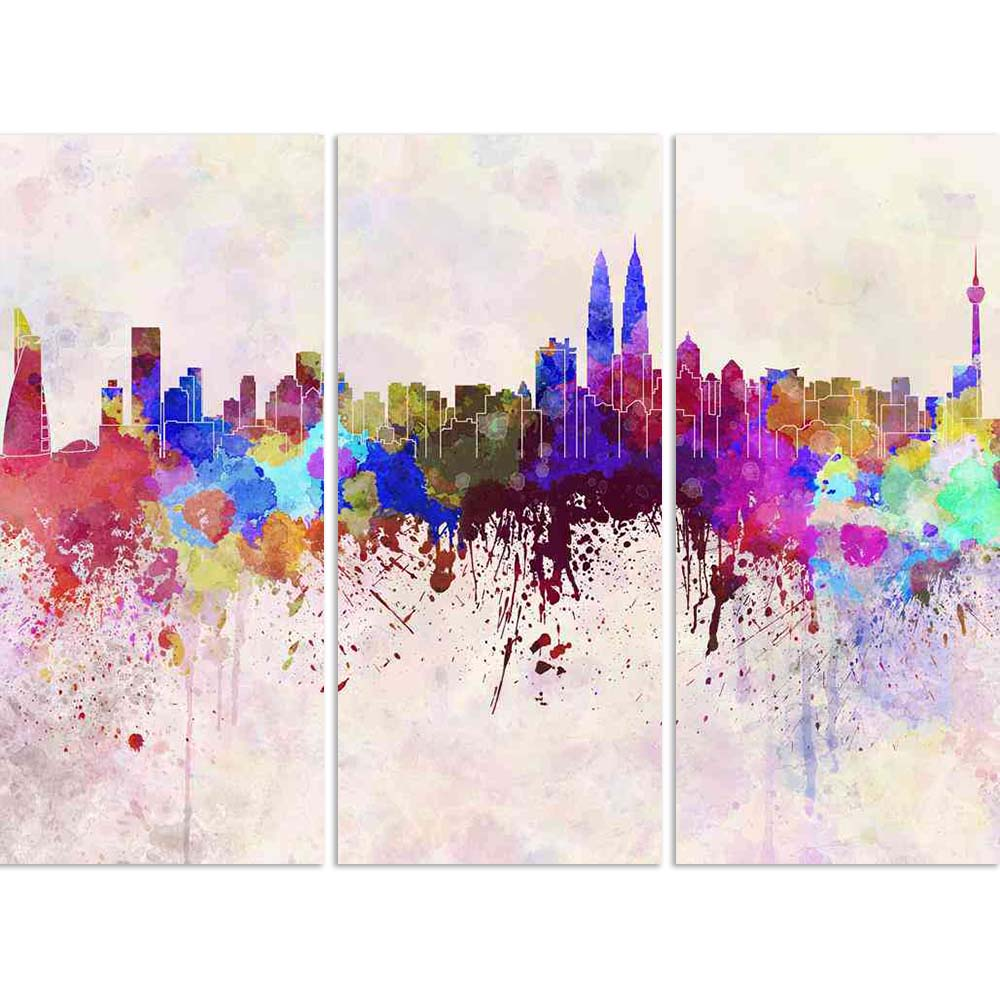 ArtzFolio Kuala Lumpur Skyline, Capital City of Malaysia Split Art Painting Panel on Sunboard-Split Art Panels-AZ5006309SPL_FR_RF_R-0-Image Code 5006309 Vishnu Image Folio Pvt Ltd, IC 5006309, ArtzFolio, Split Art Panels, Places, Fine Art Reprint, kuala, lumpur, skyline, capital, city, of, malaysia, split, art, painting, panel, on, sunboard, framed, canvas, print, wall, for, living, room, with, frame, poster, pitaara, box, large, size, drawing, big, office, reception, photography, kids, designer, decorative