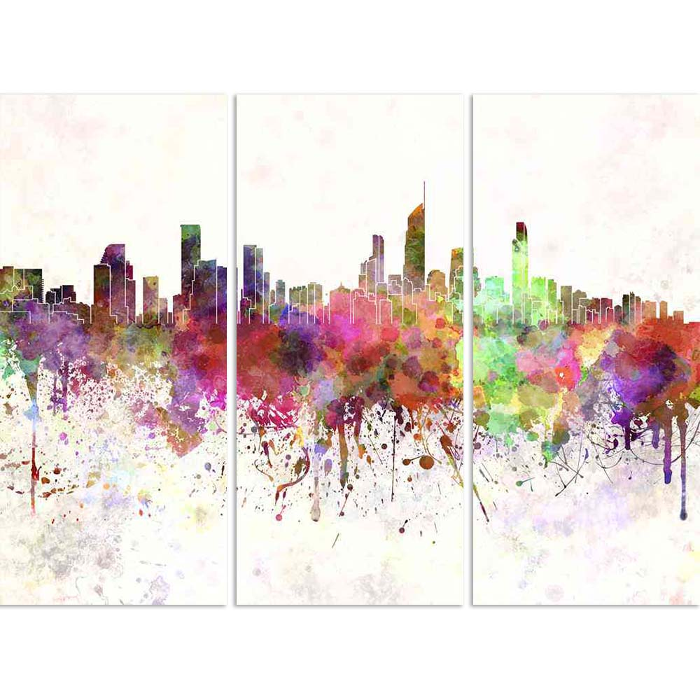 ArtzFolio Gold Coast, Australia, Skyline in Watercolor Split Art Painting Panel on Sunboard-Split Art Panels-AZ5006310SPL_FR_RF_R-0-Image Code 5006310 Vishnu Image Folio Pvt Ltd, IC 5006310, ArtzFolio, Split Art Panels, Places, Fine Art Reprint, gold, coast, australia, skyline, in, watercolor, split, art, painting, panel, on, sunboard, framed, canvas, print, wall, for, living, room, with, frame, poster, pitaara, box, large, size, drawing, big, office, reception, photography, of, kids, designer, decorative,
