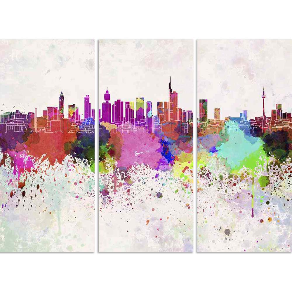 ArtzFolio Skyline of Frankfurt, Central City in Germany Split Art Painting Panel on Sunboard-Split Art Panels-AZ5006311SPL_FR_RF_R-0-Image Code 5006311 Vishnu Image Folio Pvt Ltd, IC 5006311, ArtzFolio, Split Art Panels, Places, Fine Art Reprint, skyline, of, frankfurt, central, city, in, germany, split, art, painting, panel, on, sunboard, framed, canvas, print, wall, for, living, room, with, frame, poster, pitaara, box, large, size, drawing, big, office, reception, photography, kids, designer, decorative,