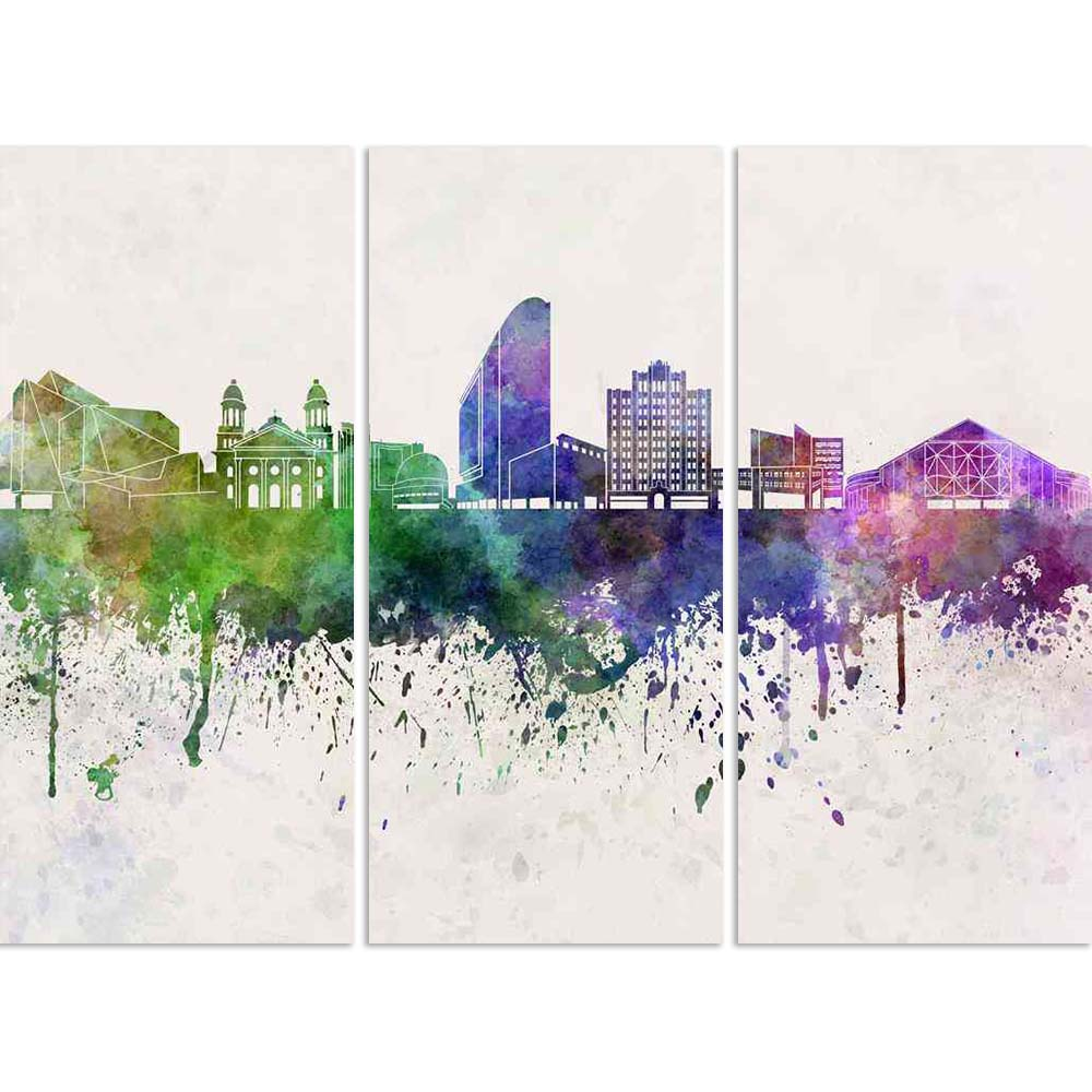ArtzFolio Skyline of San Jose, City in California, USA Split Art Painting Panel on Sunboard-Split Art Panels-AZ5006315SPL_FR_RF_R-0-Image Code 5006315 Vishnu Image Folio Pvt Ltd, IC 5006315, ArtzFolio, Split Art Panels, Places, Fine Art Reprint, skyline, of, san, jose, city, in, california, usa, split, art, painting, panel, on, sunboard, framed, canvas, print, wall, for, living, room, with, frame, poster, pitaara, box, large, size, drawing, big, office, reception, photography, kids, designer, decorative, am