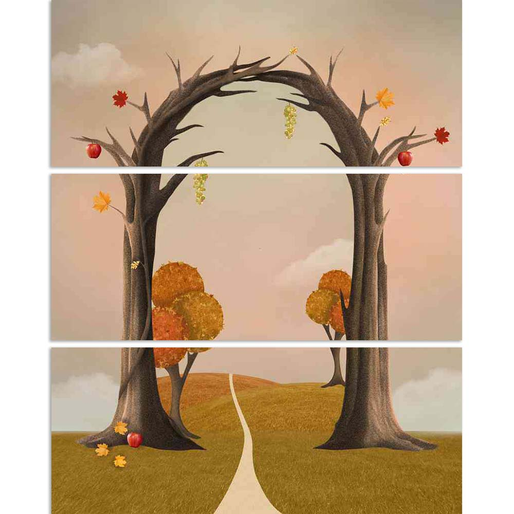 ArtzFolio Autumnal Landscape Split Art Painting Panel on Sunboard-Split Art Panels-AZ5006382SPL_FR_RF_R-0-Image Code 5006382 Vishnu Image Folio Pvt Ltd, IC 5006382, ArtzFolio, Split Art Panels, Conceptual, Kids, Digital Art, autumnal, landscape, split, art, painting, panel, on, sunboard, framed, canvas, print, wall, for, living, room, with, frame, poster, pitaara, box, large, size, drawing, big, office, reception, photography, of, designer, decorative, amazonbasics, reprint, small, bedroom, scenery, paintin