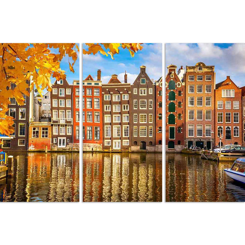 ArtzFolio Old Buildings in Amsterdam, The Netherlands Split Art Painting Panel on Sunboard-Split Art Panels-AZ5006395SPL_FR_RF_R-0-Image Code 5006395 Vishnu Image Folio Pvt Ltd, IC 5006395, ArtzFolio, Split Art Panels, Places, Photography, old, buildings, in, amsterdam, the, netherlands, split, art, painting, panel, on, sunboard, framed, canvas, print, wall, for, living, room, with, frame, poster, pitaara, box, large, size, drawing, big, office, reception, of, kids, designer, decorative, amazonbasics, repri