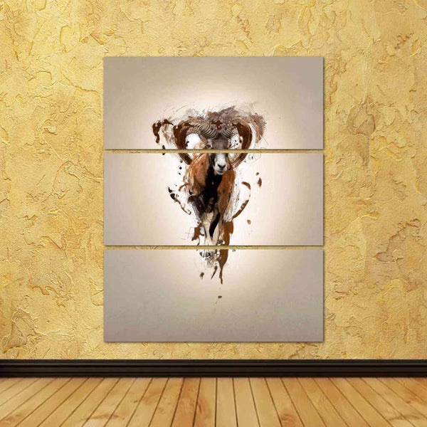 ArtzFolio Abstract Animal Mouflon Concept Split Art Painting Panel on Sunboard-Split Art Panels-AZ5006490SPL_FR_RF_R-0-Image Code 5006490 Vishnu Image Folio Pvt Ltd, IC 5006490, ArtzFolio, Split Art Panels, Animals, Digital Art, abstract, animal, mouflon, concept, split, art, painting, panel, on, sunboard, framed, canvas, print, wall, for, living, room, with, frame, poster, pitaara, box, large, size, drawing, big, office, reception, photography, of, kids, designer, decorative, amazonbasics, reprint, small,