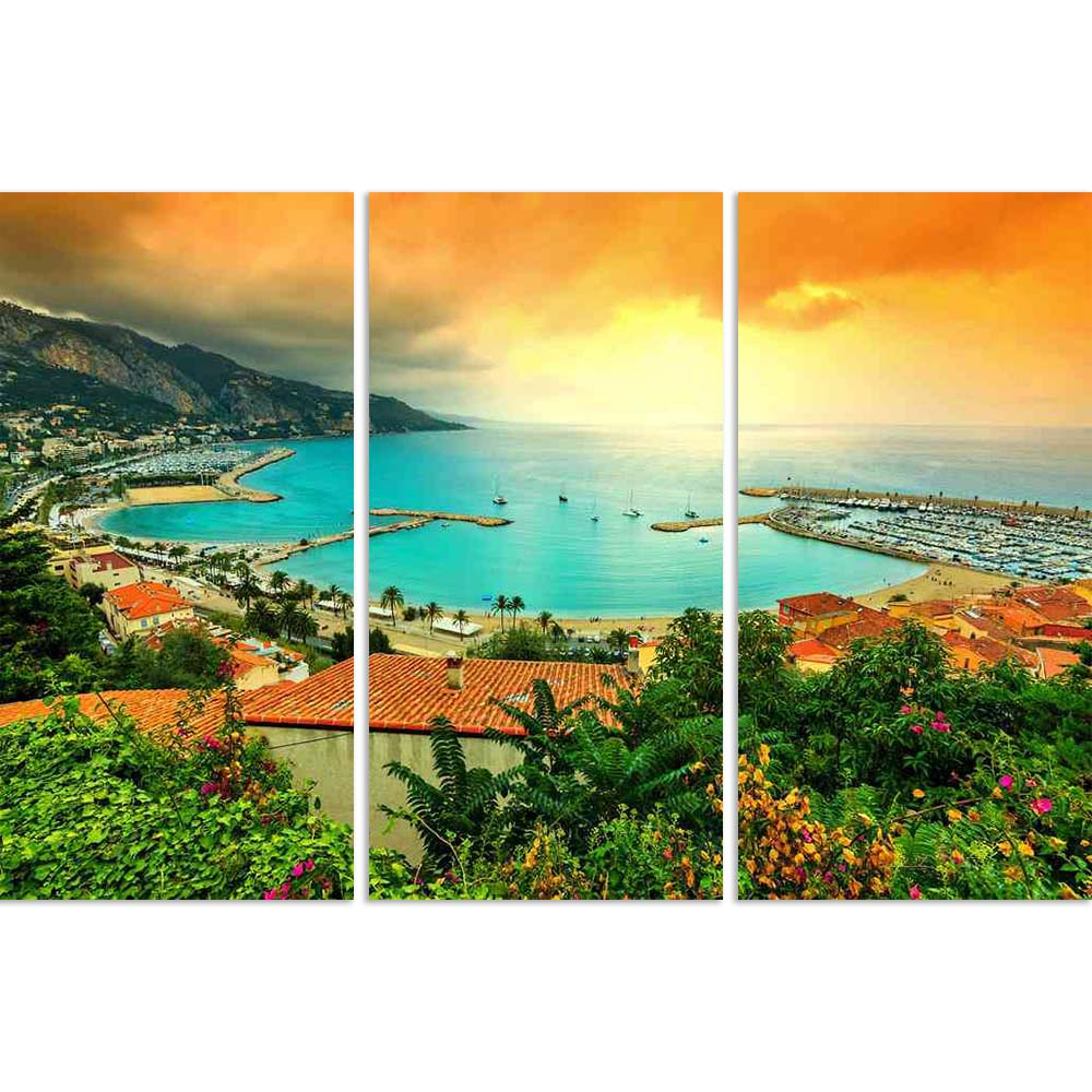 ArtzFolio Beach Coastline, Azur Coast, France Split Art Painting Panel on Sunboard-Split Art Panels-AZ5006495SPL_FR_RF_R-0-Image Code 5006495 Vishnu Image Folio Pvt Ltd, IC 5006495, ArtzFolio, Split Art Panels, Landscapes, Places, Photography, beach, coastline, azur, coast, france, split, art, painting, panel, on, sunboard, framed, canvas, print, wall, for, living, room, with, frame, poster, pitaara, box, large, size, drawing, big, office, reception, of, kids, designer, decorative, amazonbasics, reprint, sm