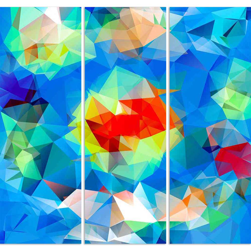 ArtzFolio Triangle Geometric Mosaic Background Split Art Painting Panel on Sunboard-Split Art Panels-AZ5006548SPL_FR_RF_R-0-Image Code 5006548 Vishnu Image Folio Pvt Ltd, IC 5006548, ArtzFolio, Split Art Panels, Abstract, Digital Art, triangle, geometric, mosaic, background, split, art, painting, panel, on, sunboard, framed, canvas, print, wall, for, living, room, with, frame, poster, pitaara, box, large, size, drawing, big, office, reception, photography, of, kids, designer, decorative, amazonbasics, repri
