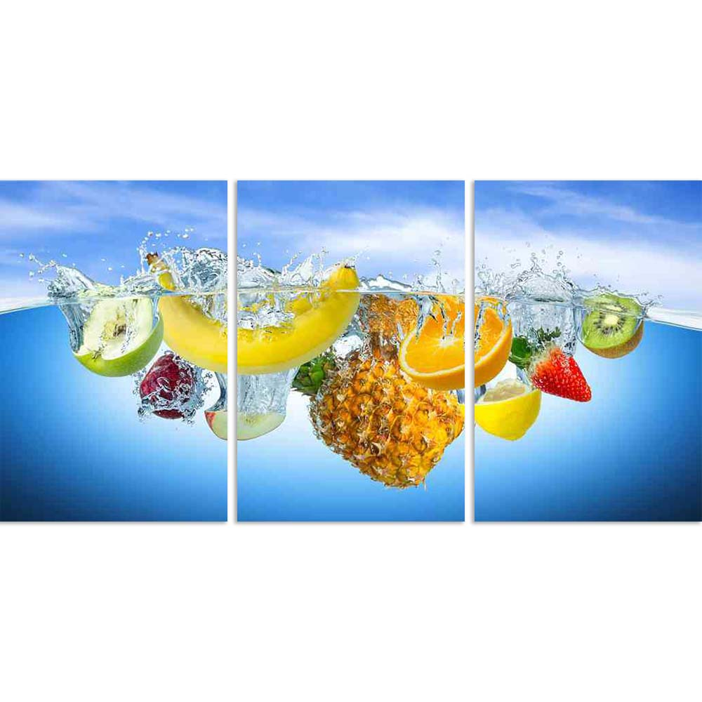ArtzFolio Photo of Many Fruits Splashing Into Water Split Art Painting Panel on Sunboard-Split Art Panels-AZ5006552SPL_FR_RF_R-0-Image Code 5006552 Vishnu Image Folio Pvt Ltd, IC 5006552, ArtzFolio, Split Art Panels, Food & Beverage, Photography, photo, of, many, fruits, splashing, into, water, split, art, painting, panel, on, sunboard, framed, canvas, print, wall, for, living, room, with, frame, poster, pitaara, box, large, size, drawing, big, office, reception, kids, designer, decorative, amazonbasics, re