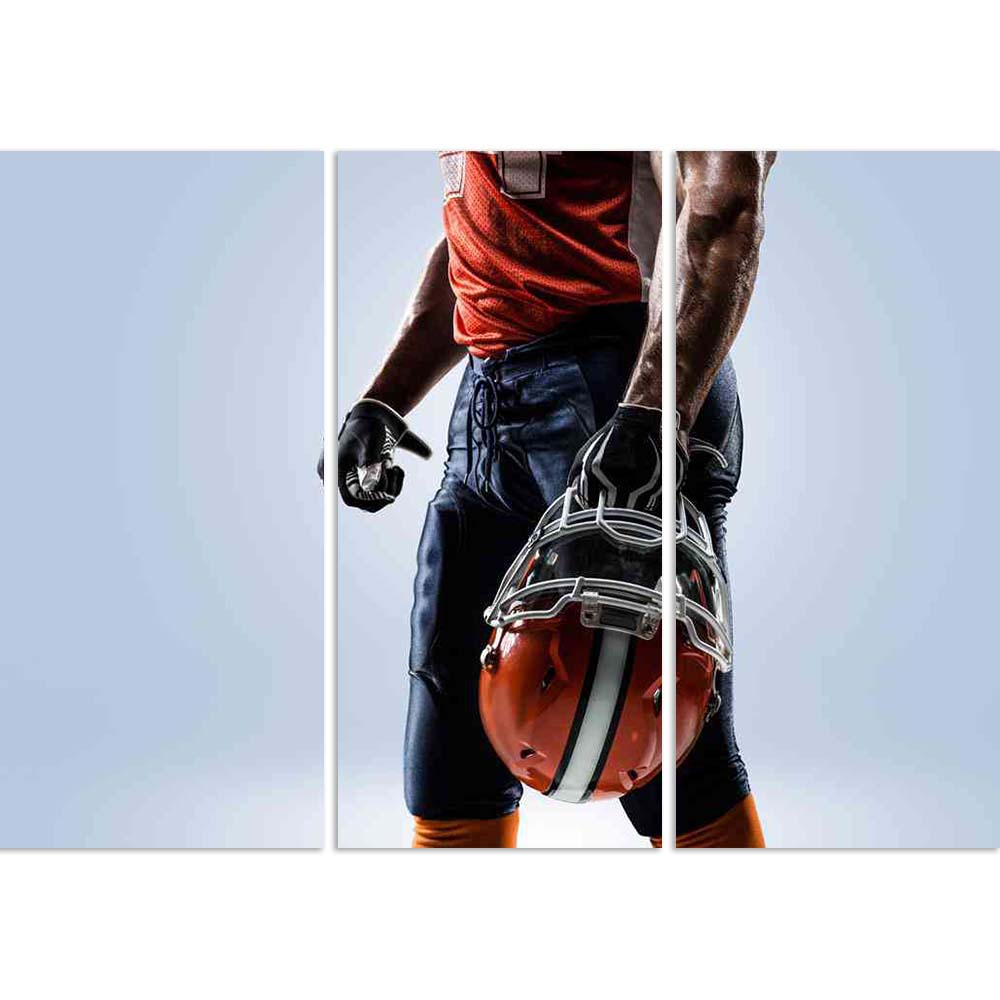 ArtzFolio American Football Player in Action D1 Split Art Painting Panel on Sunboard-Split Art Panels-AZ5006554SPL_FR_RF_R-0-Image Code 5006554 Vishnu Image Folio Pvt Ltd, IC 5006554, ArtzFolio, Split Art Panels, Sports, Photography, american, football, player, in, action, d1, split, art, painting, panel, on, sunboard, framed, canvas, print, wall, for, living, room, with, frame, poster, pitaara, box, large, size, drawing, big, office, reception, of, kids, designer, decorative, amazonbasics, reprint, small,