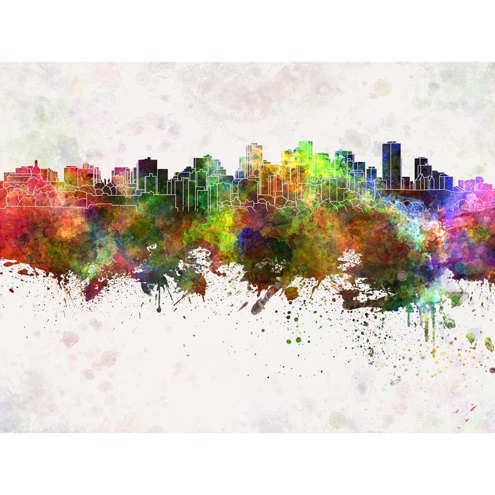 ArtzFolio Skyline of Edmonton, Capital of Alberta, Canada Unframed Premium Canvas Painting-Paintings Unframed Premium-AZ5006588ART_UN_RF_R-0-Image Code 5006588 Vishnu Image Folio Pvt Ltd, IC 5006588, ArtzFolio, Paintings Unframed Premium, Places, Fine Art Reprint, skyline, of, edmonton, capital, alberta, canada, unframed, premium, canvas, painting, large, size, print, wall, for, living, room, without, frame, decorative, poster, art, pitaara, box, drawing, photography, amazonbasics, big, kids, designer, offi