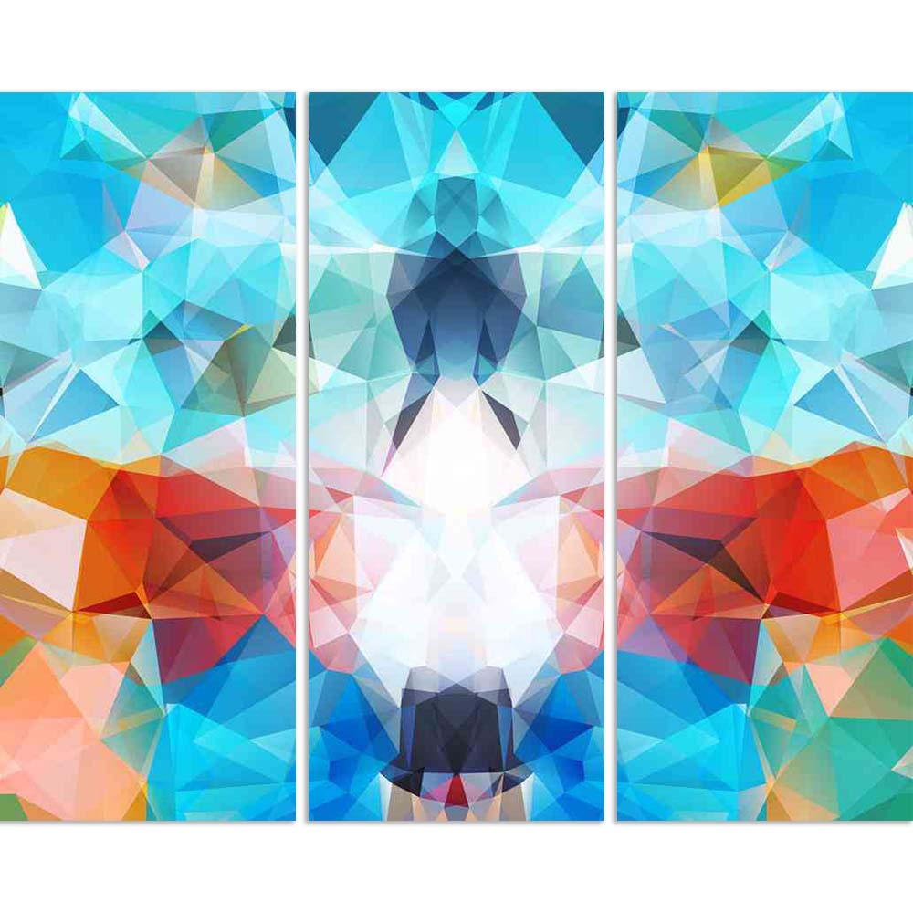 ArtzFolio Abstract Geometric Multicolored Triangles Mosaic Split Art Painting Panel on Sunboard-Split Art Panels-AZ5006606SPL_FR_RF_R-0-Image Code 5006606 Vishnu Image Folio Pvt Ltd, IC 5006606, ArtzFolio, Split Art Panels, Abstract, Digital Art, geometric, multicolored, triangles, mosaic, split, art, painting, panel, on, sunboard, framed, canvas, print, wall, for, living, room, with, frame, poster, pitaara, box, large, size, drawing, big, office, reception, photography, of, kids, designer, decorative, amaz