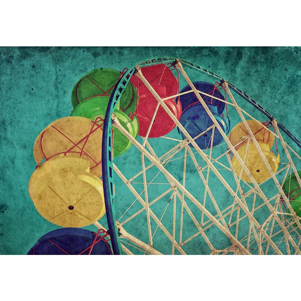 ArtzFolio Vintage Grunge Image of Colorful Ferris Wheel Unframed Premium Canvas Painting-Paintings Unframed Premium-AZ5006681ART_UN_RF_R-0-Image Code 5006681 Vishnu Image Folio Pvt Ltd, IC 5006681, ArtzFolio, Paintings Unframed Premium, Places, Photography, vintage, grunge, image, of, colorful, ferris, wheel, unframed, premium, canvas, painting, large, size, print, wall, for, living, room, without, frame, decorative, poster, art, pitaara, box, drawing, amazonbasics, big, kids, designer, office, reception, r